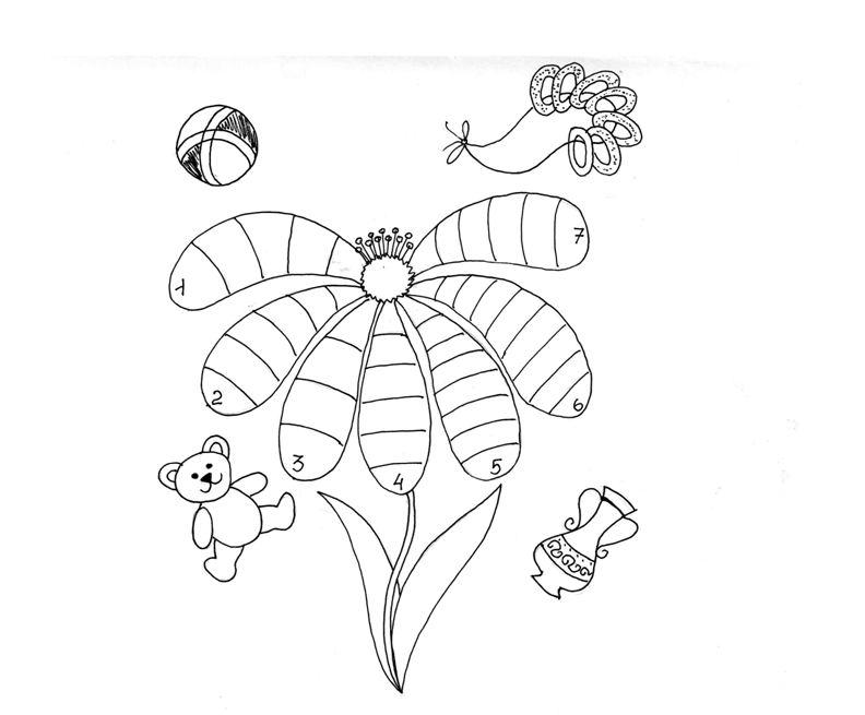 Раскраска сказка цветик-семицветик